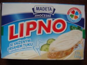 Nízkotučný tavený sýr Lipno