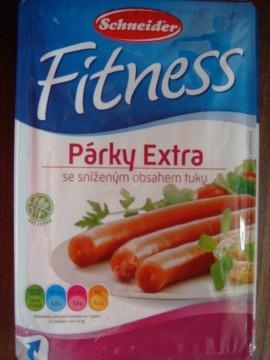 Fitness párky extra