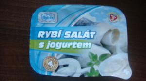 Rybí salát v jogurtu