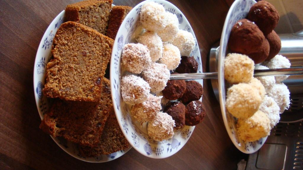 Jáhlové kuličky - kokosové,čokoládové,dýňové .......