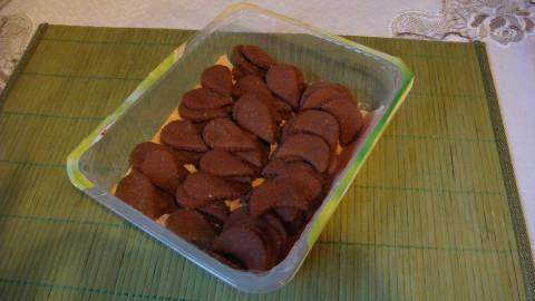Čokoládové lístečky s arašídovou nutelou celozrnné