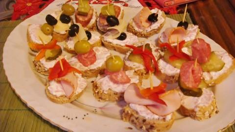 Šunkovo-sýrová pomazánka na chlebíčky a jednohubky