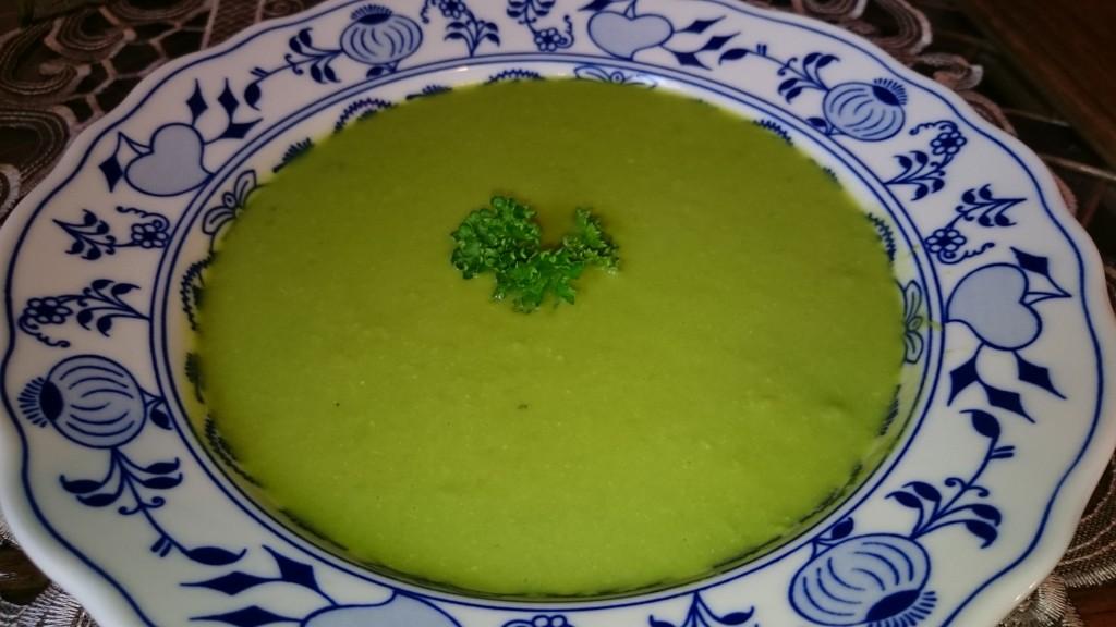 Hrášková krémová polévka