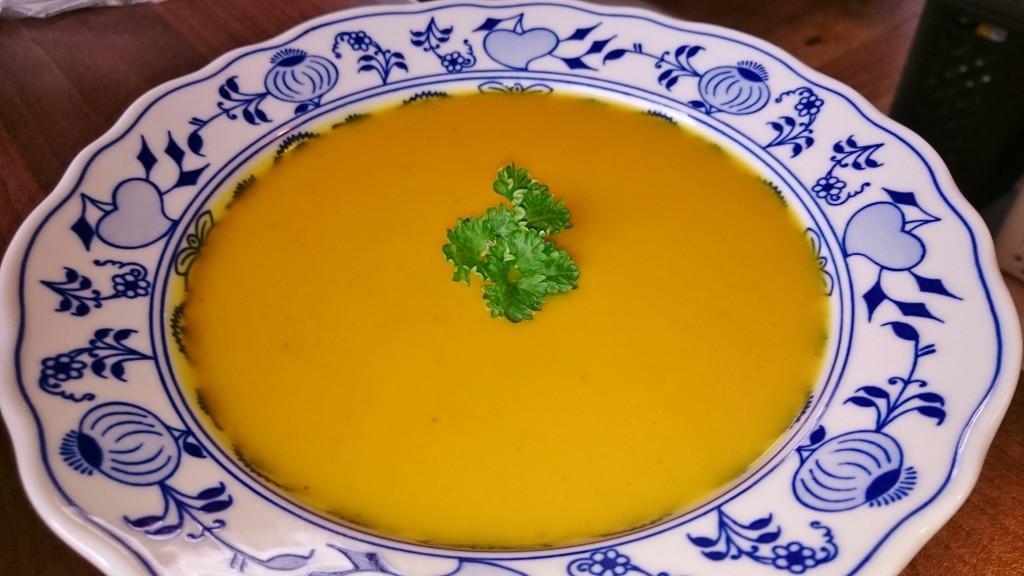 Indická dýňová polévka