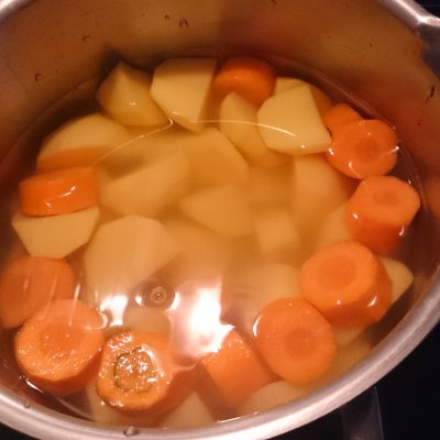 Šťouchaná kaše s mrkví