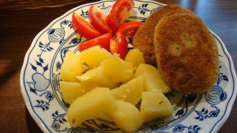 Brokolicové karbanátky s mozzarellou