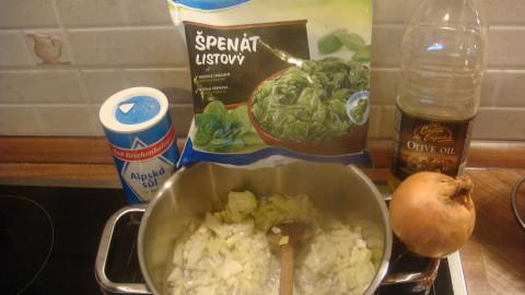 Roláda z kuřete plněná špenátem a šťouchané brambory Mistra kominíka