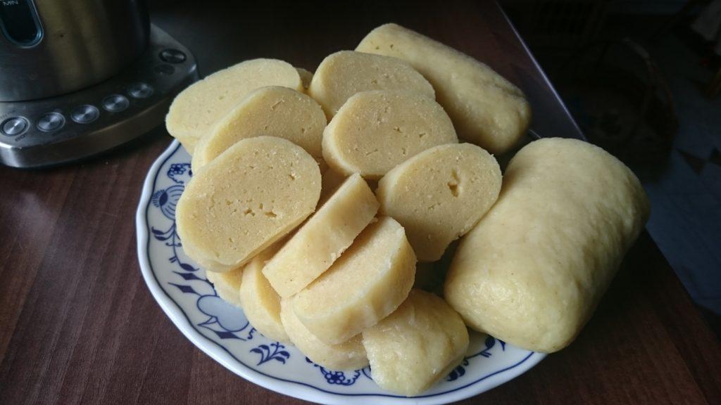 Domácí knedlíky z brambor